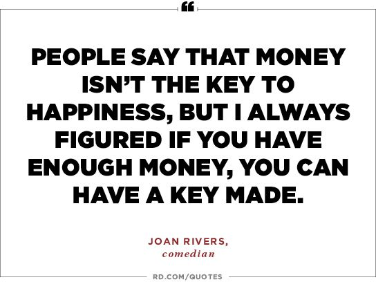 Quotable Quotes 26 Secrets Of Happiness Quotable Quotes  Pinterest  Joan Rivers