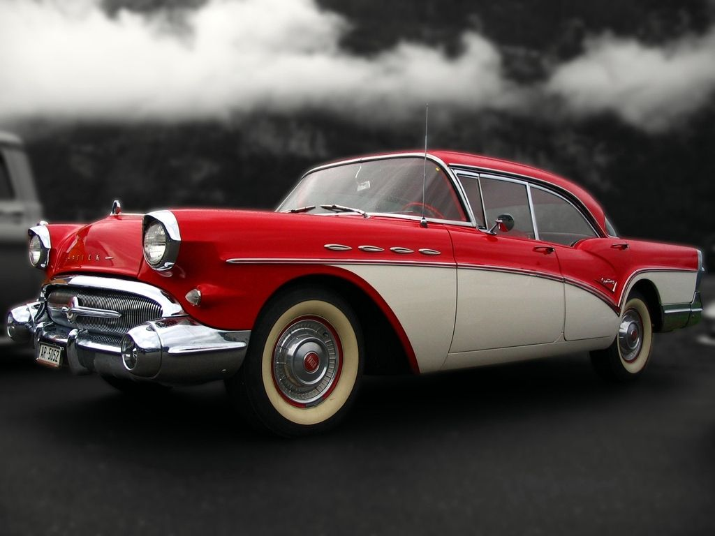 Old Red '57 Buick Buick, Best muscle cars, Buick century