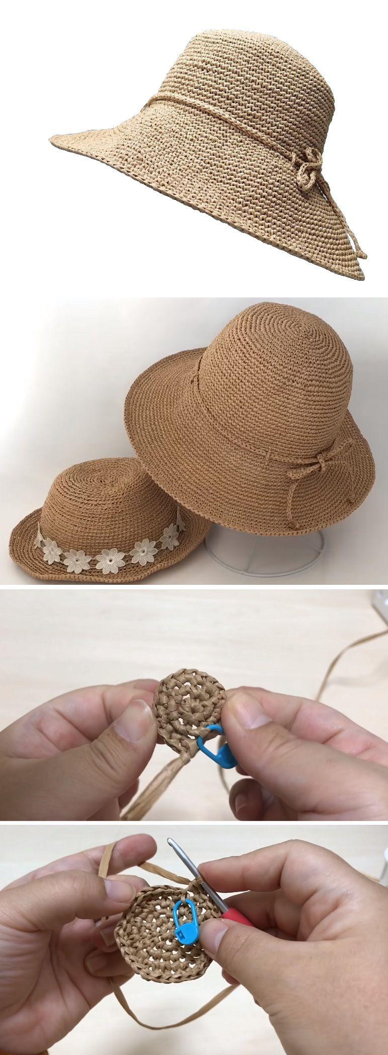 Crochet Fedora Tutorial – Handmade paris #beanies