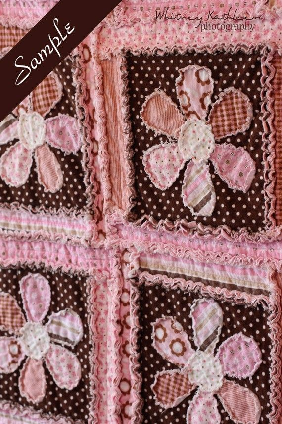 Rag Quilt | Quilts, place mats, mug rugs, table runners, and more ...