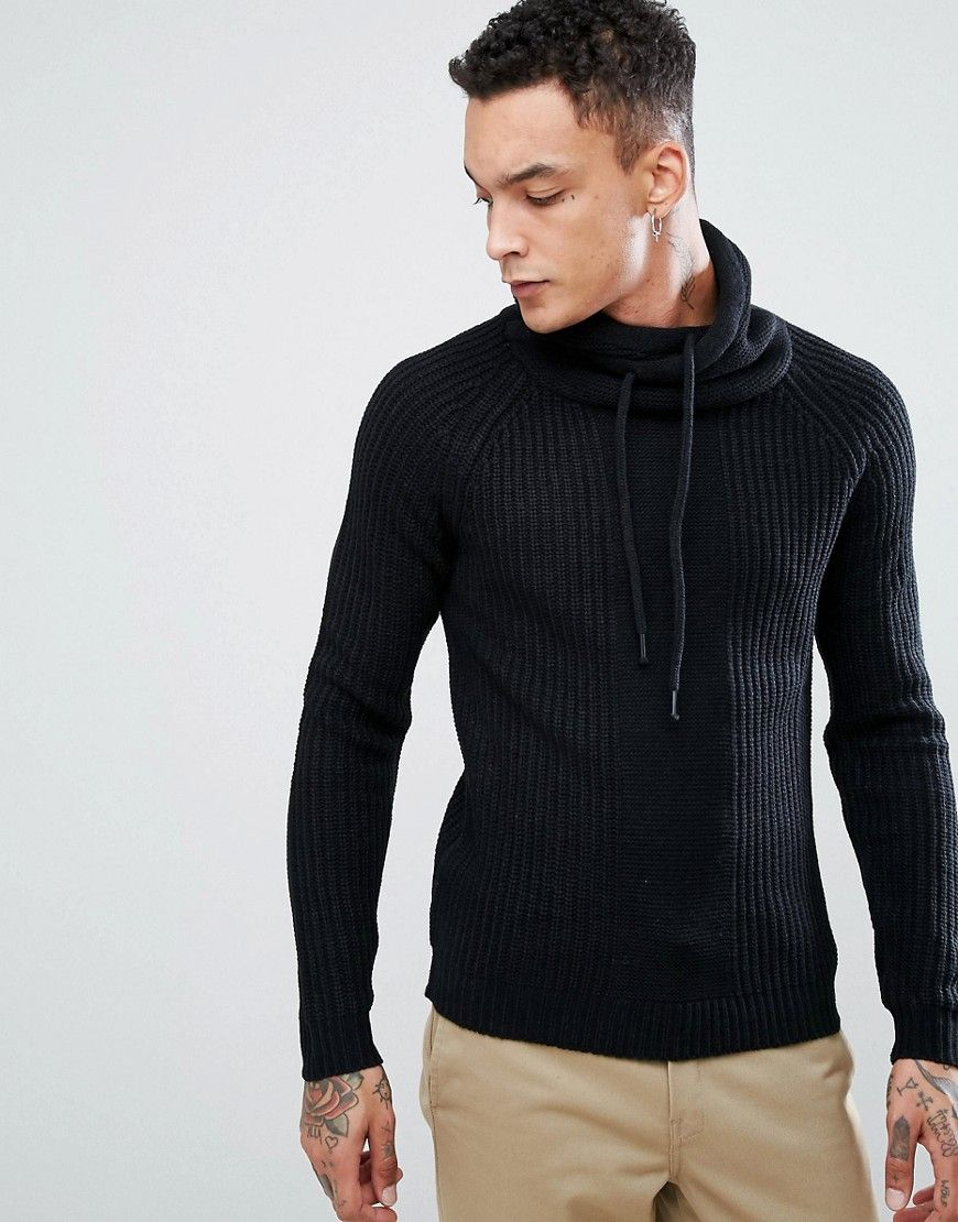 97b252eec Get this Bershka's knit pullover now! Click for more details. Worldwide  shipping. Bershka