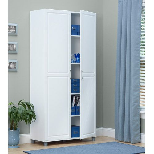 Best Systembuild 36 Utility Storage Cabinet White 7363401Pcom 640 x 480