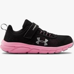 Photo of Under Armor Pre-School Ua Assert 8 Ac Running Shoes Black 31.5 Under Armor