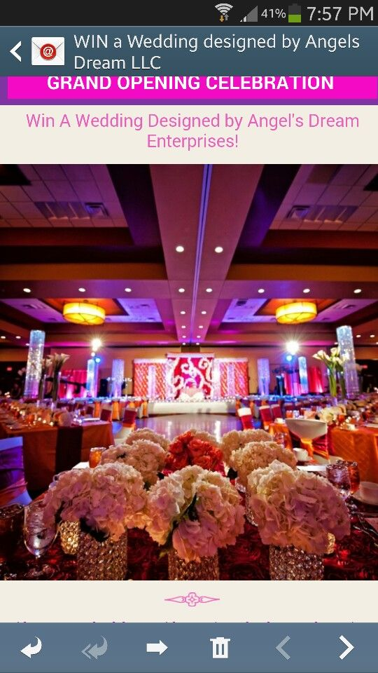 Love the rectangular table setup and the backdrop and table covers
