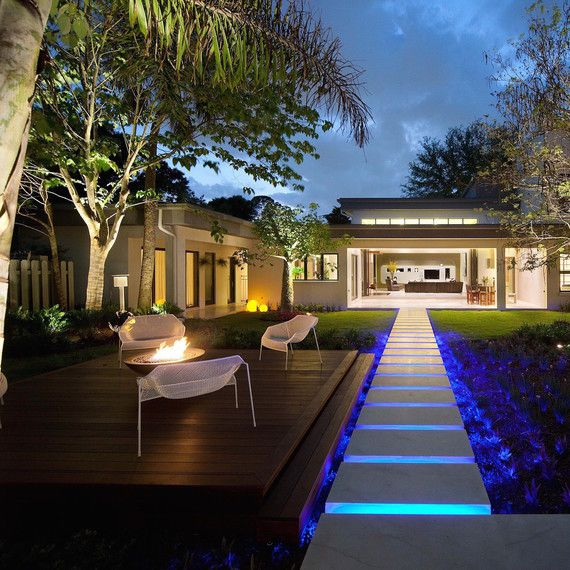The Most Creative Backyard Decorating Ideas Contemporary Outdoor Lighting Exterior Lighting Modern Exterior