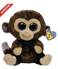 0836dd1e1df TY Beanie Boo s Coconut The Monkey I ve also got the pink one with a cookie  heart