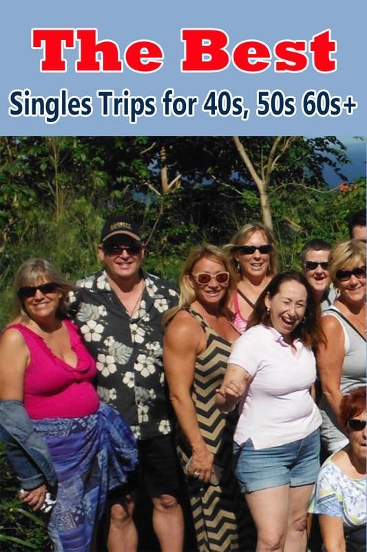The best singles vacations