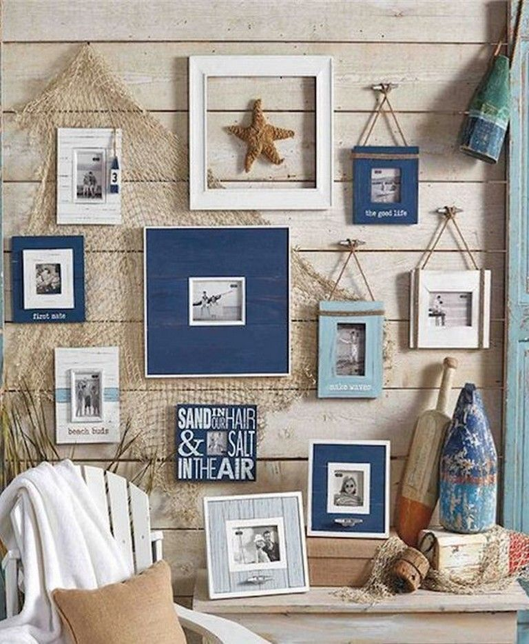 10 Creative Nautical Wall Decorations For Your Beauty Home Decoration Decoratingideas Homedecor Nautical Wall Decor Cottage Decor Beach House Decor