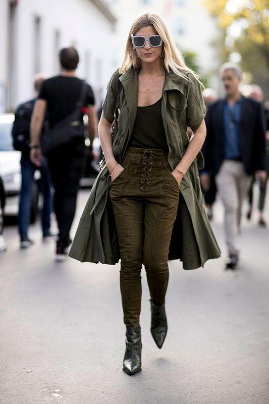 Street Fashion Paris Fashion Week Wiosna Lato 2017