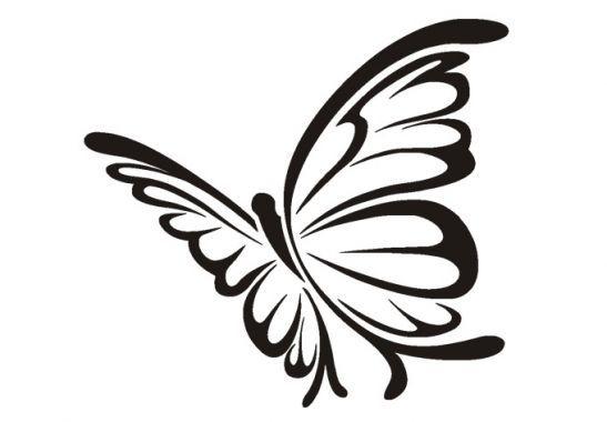Wandtattoo Schmetterling 5 Butterflies Tassen Bemalen Malen Und