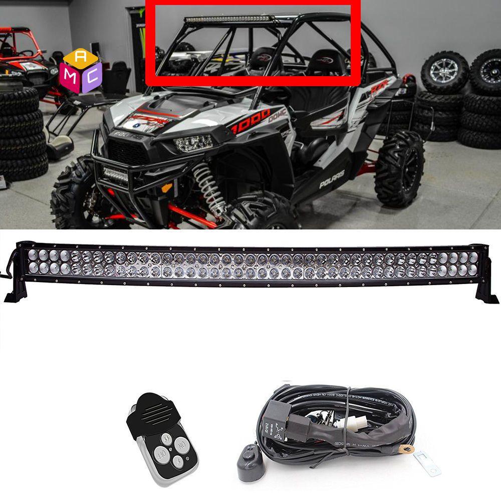 40 led light bar kit polaris rzr xp900 800 rzr4 crew xp1000 ranger 900 800 570x