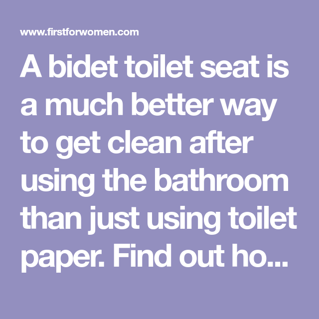 This Bidet Toilet Seat Will Change How You Use The Bathroom
