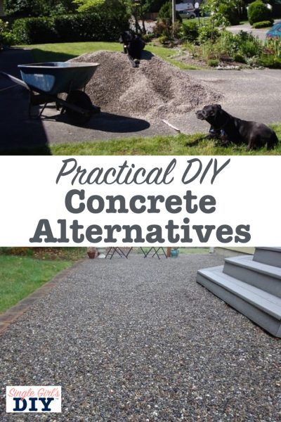 Budget and Eco-Friendly Concrete Alternatives