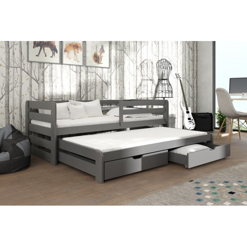 Lit Gigogne Senso Pour Enfant Personnalisable En 4 Couleurs Beds For Small Spaces Room Baby Girl Room