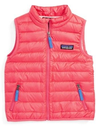 ea61260b4 Toddler Girl's Patagonia 600-Fill Down Sweater Vest | Cool Products ...