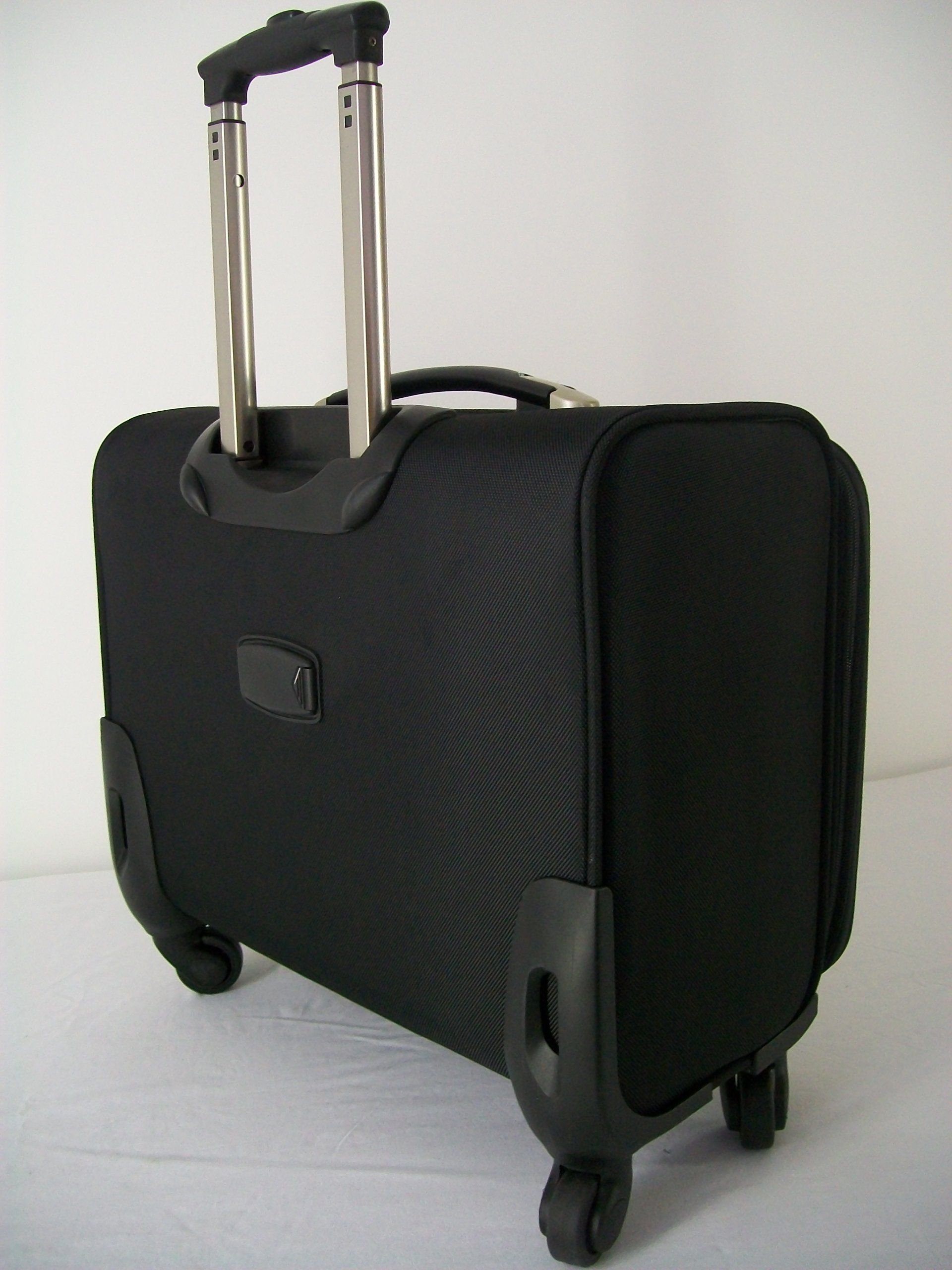 929110a441bd30 4 wheel laptop cabin hand luggage pilot case trolley business travel bag 4  swivel wheels 360