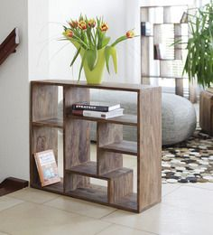 Book Shelves - Modern Wooden, Glass Wall Hanging, Folding, Corner ...