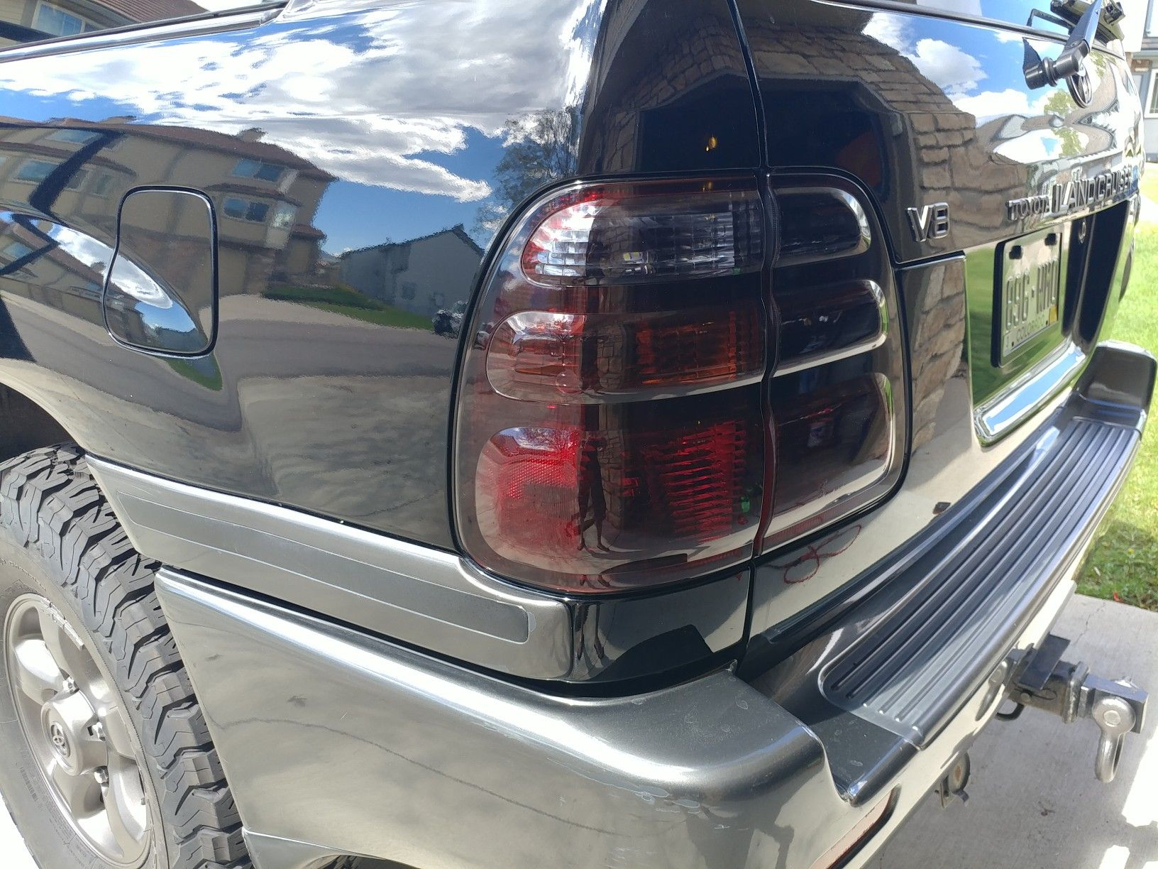 Blacked Out Tail Lights Using Vht Night Shades Toyota Camionetas Toyota Camionetas