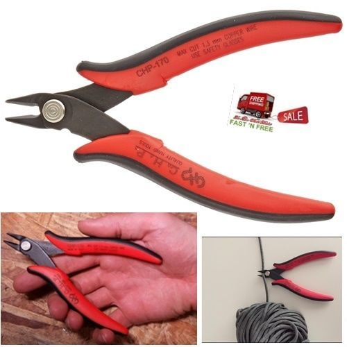Copper Wire Cutter Hand Tool Hardened Carbon Steel Angled Jaw Grip ...