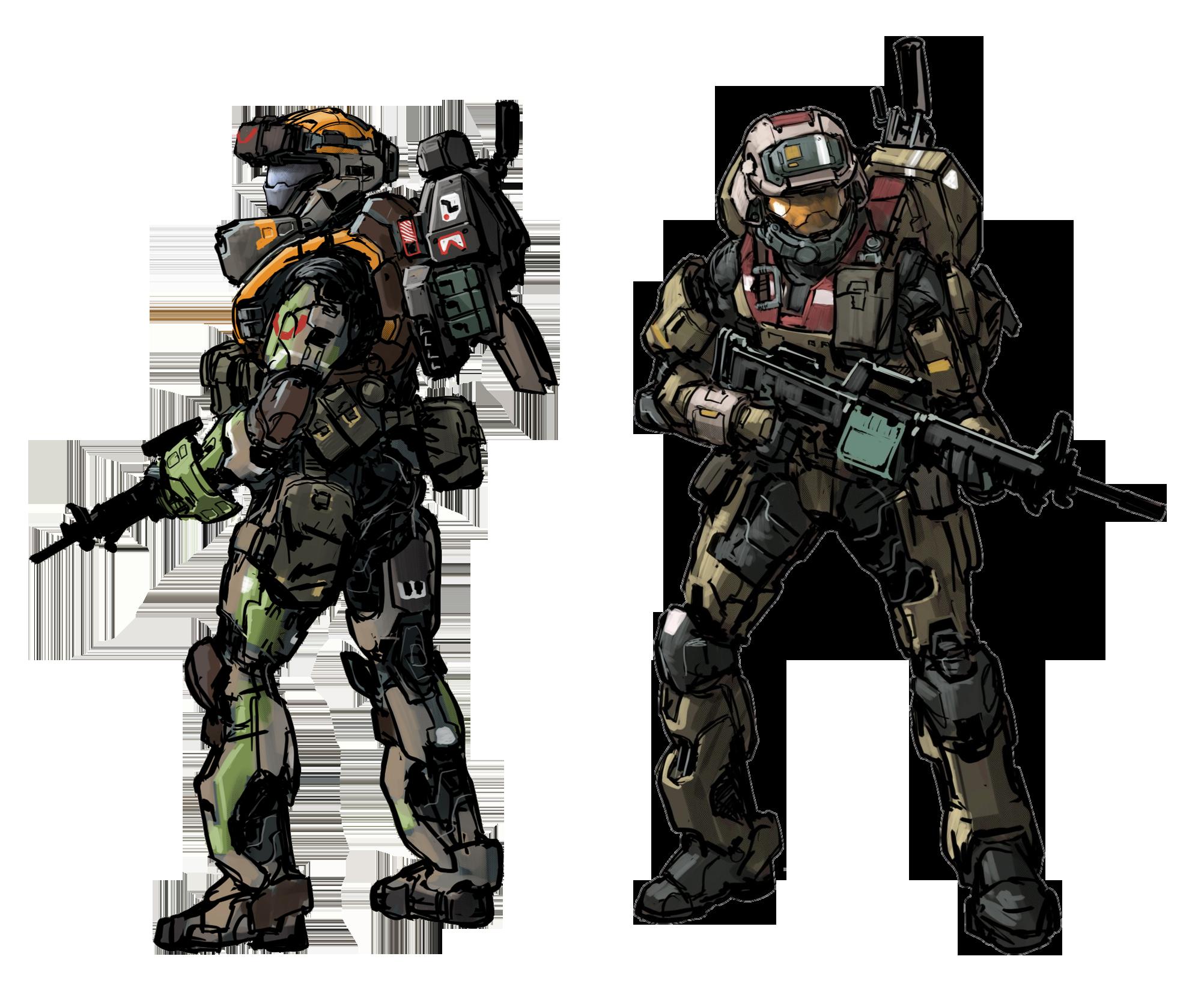 Halo Reach Mjolnir Heavy Armor Halo Reach Armor Halo Spartan