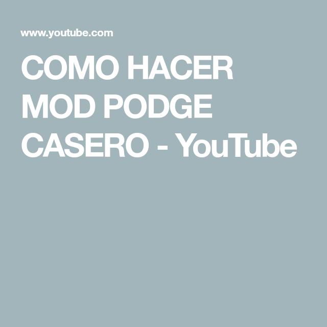 Como Hacer Mod Podge Casero Youtube En 2020 Mod Podge Como Hacer Casero