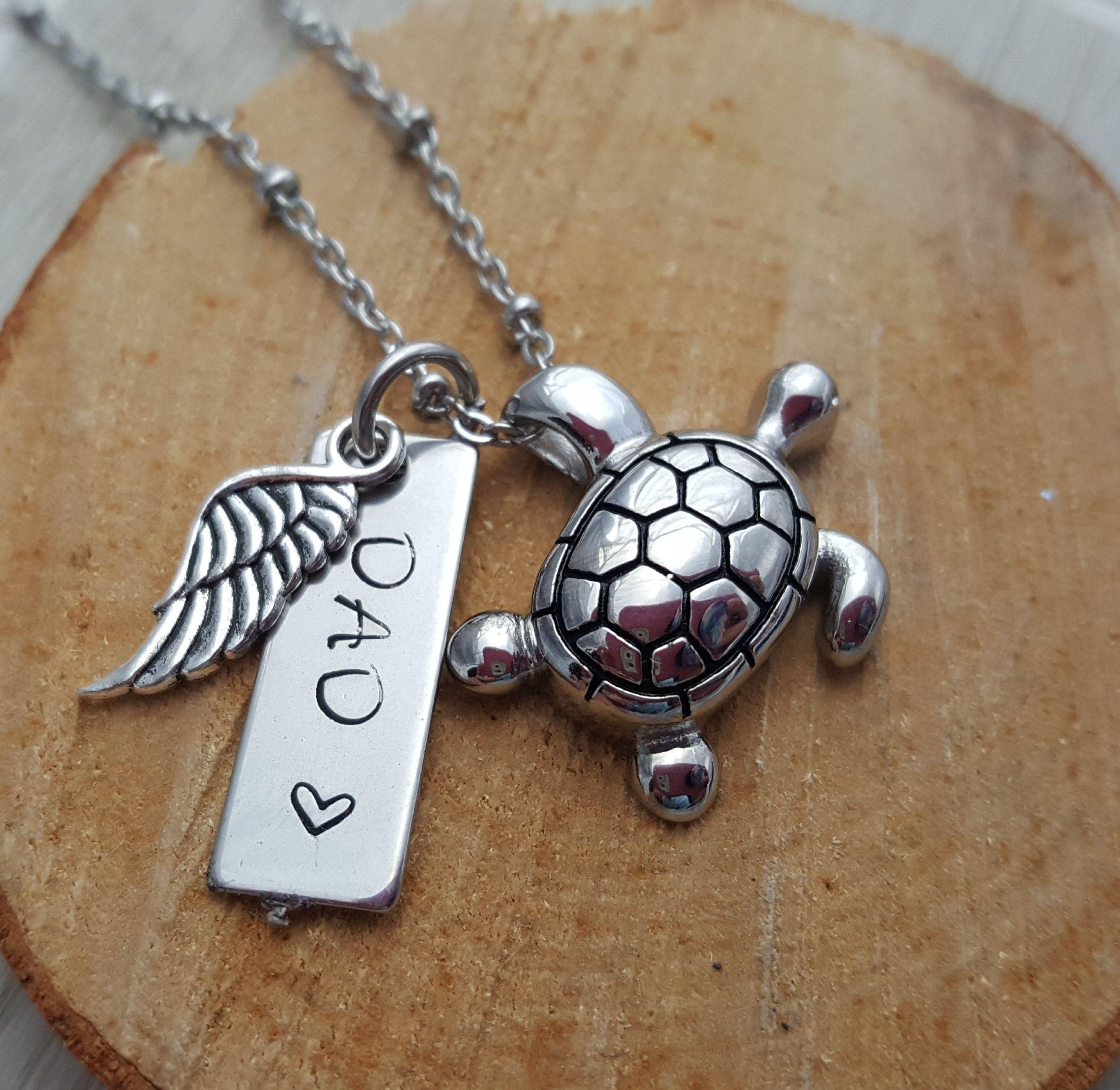 0b7450c307eb8 Sea Turtle Cremation Jewelry, Personalized Jewelry, Urn Necklace ...