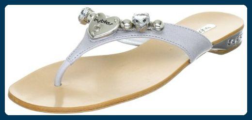 Details zu Tamaris Sandaletten schwarz Gr. 40 Sandale sandals Strass glitzer Zehentrenner