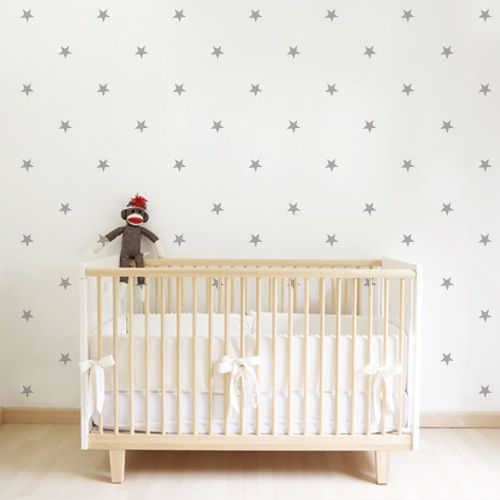 Vinilo decorativo mini estrellas vinilos infantiles - Vinilos infantiles pared gotele ...
