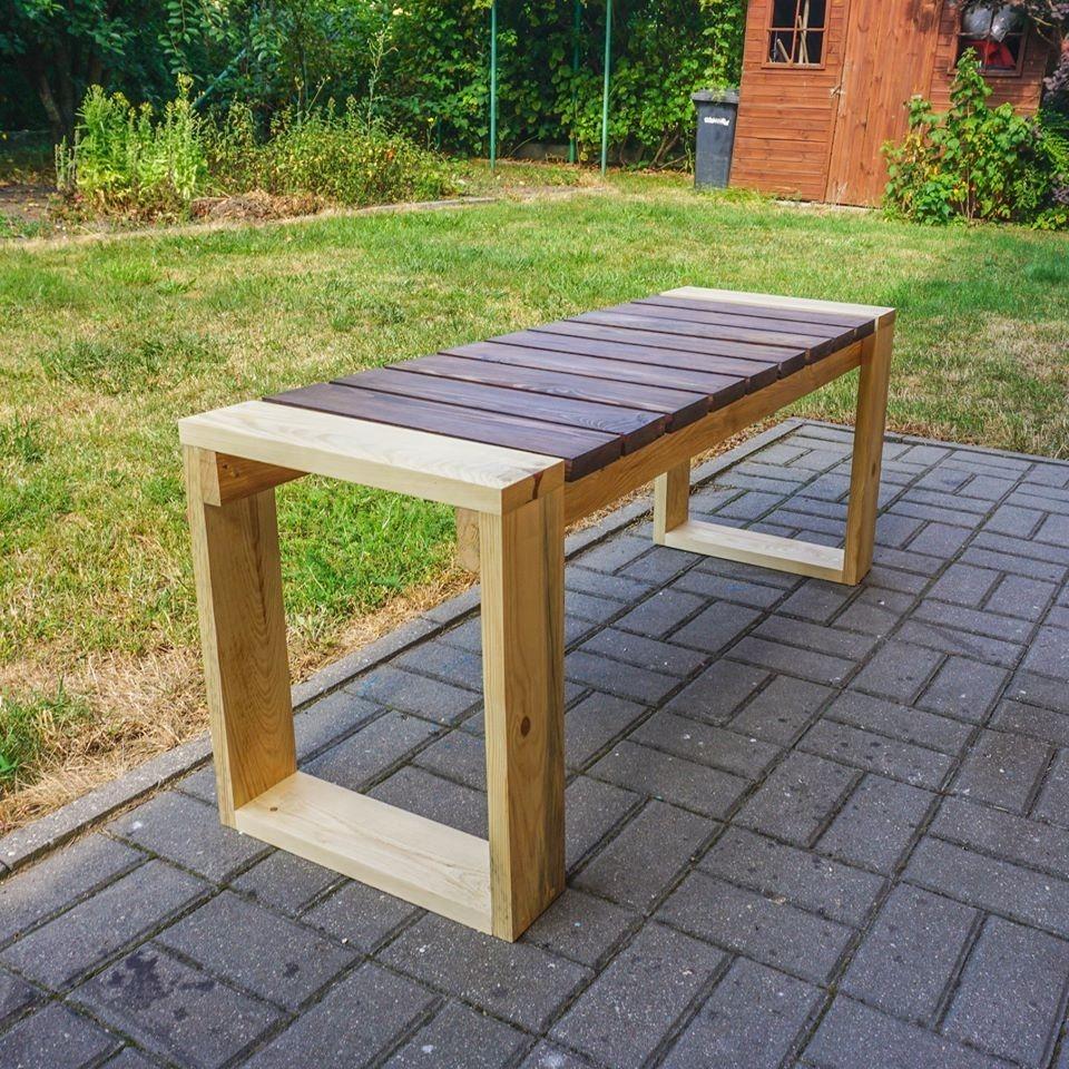 Lawka Ogrodowa Drewniana Bez Oparcia 2 Osobowa Cena 200 00 Zl Gniewkowo Allegro Lokalnie Diy Outdoor Furniture Outdoor Furniture Outdoor Decor