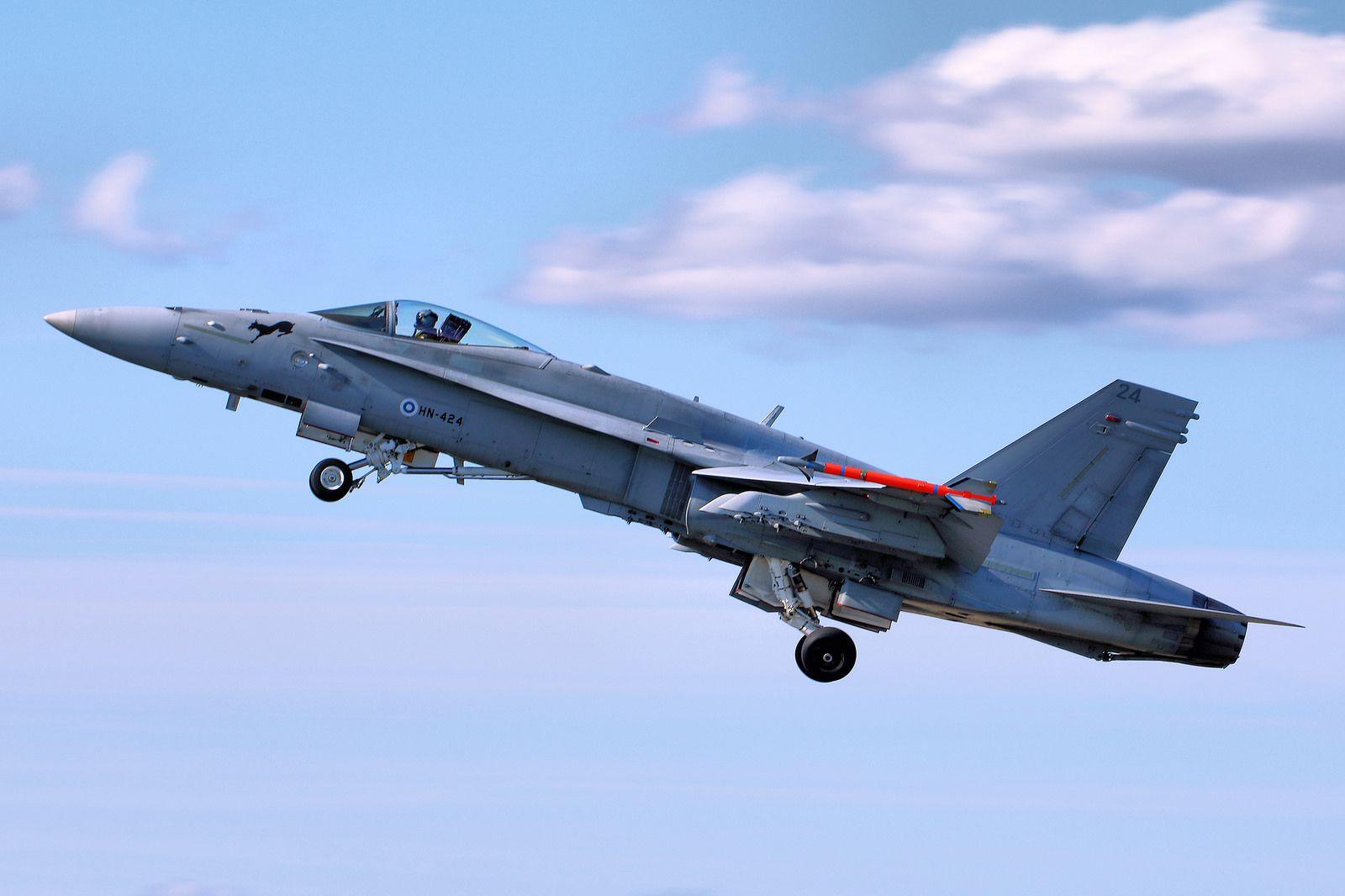 F/A-18 Hornet - RIAT 2015