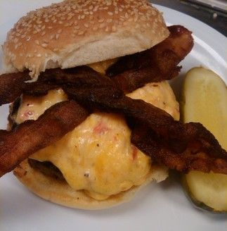 Pimiento Burger from Bobby's Burger Palace.
