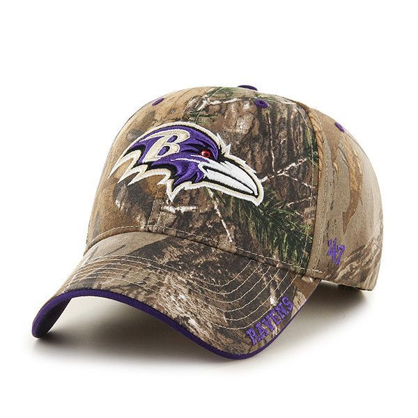 a2c04c163f654 ... canada baltimore ravens 47 brand realtree camo frost mvp adjustable  velcro hat cap 8fdc4 8d014