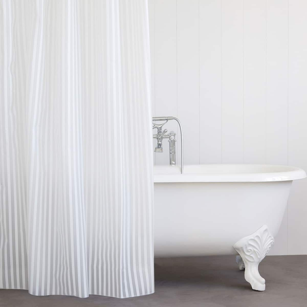 Image 1 Of The Product Striped Shower Curtain Zara Home Shower