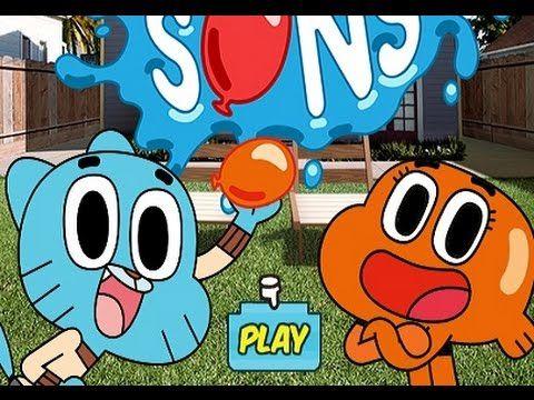 غامبول المدهش اللعب بفقاعات الماء لعبة كرتون عالم غامبول Free Online Games Kids Playing Play Free Online Games