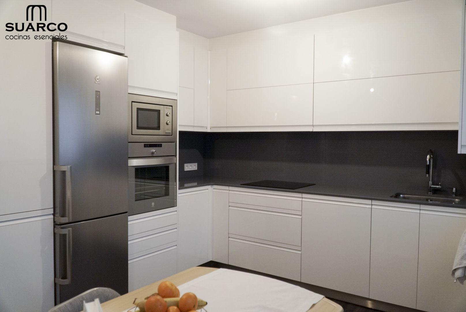 Cocina Moderna Cocina Suarco Cocinas Blancas Decoracion De Cocina Diseno De Cocina