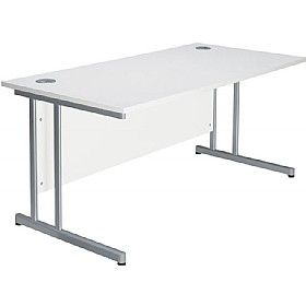 NEXT DAY Pure Cantilever Rectangular #OfficeDesks are premium quality office furniture made in the UK. Like most of @Office Desks desks these desks can also be delivered next day (if ordered before 12pm) and includes FREE delivery to the #UK Mainland.