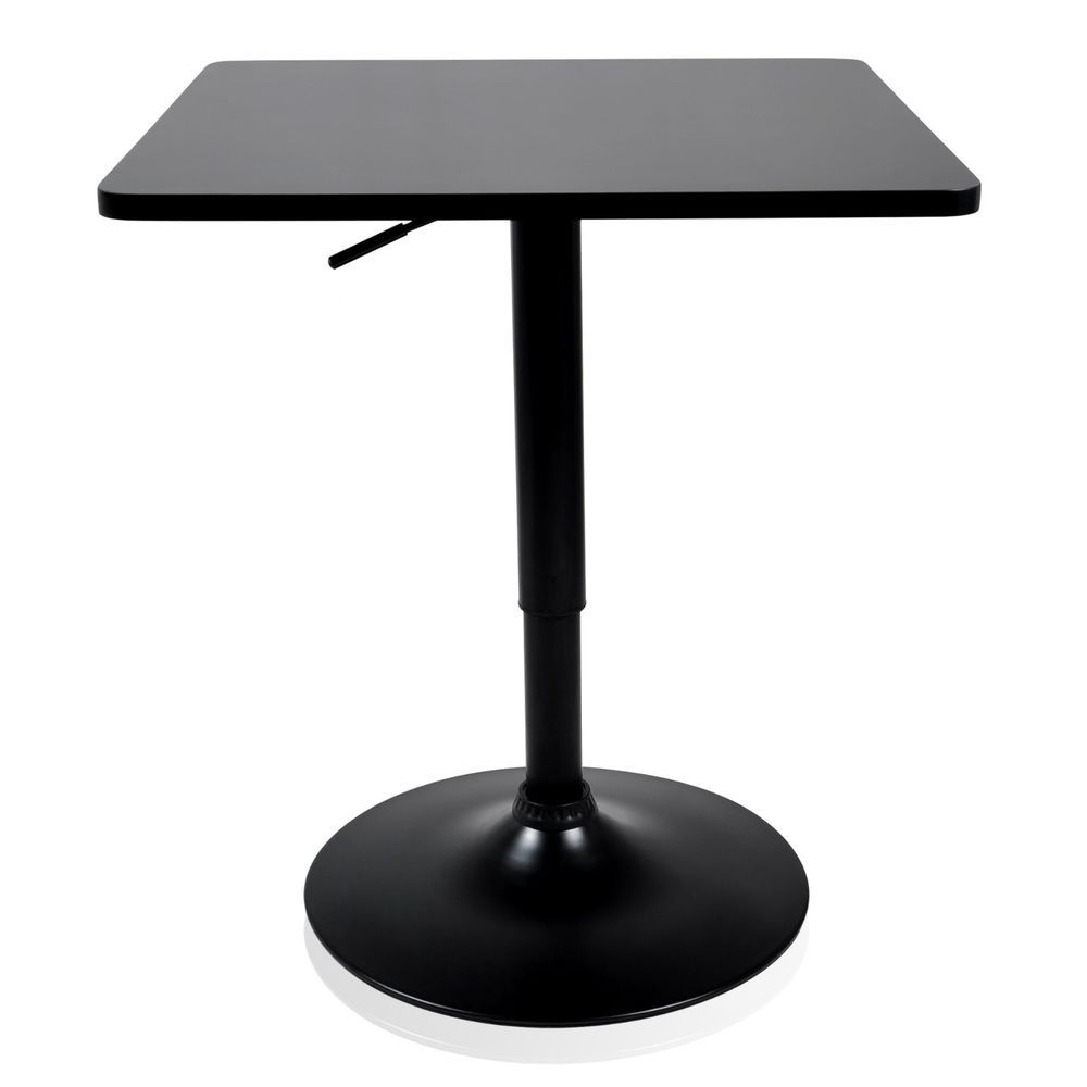 Krei hejmo adjustable square dining cocktail table with