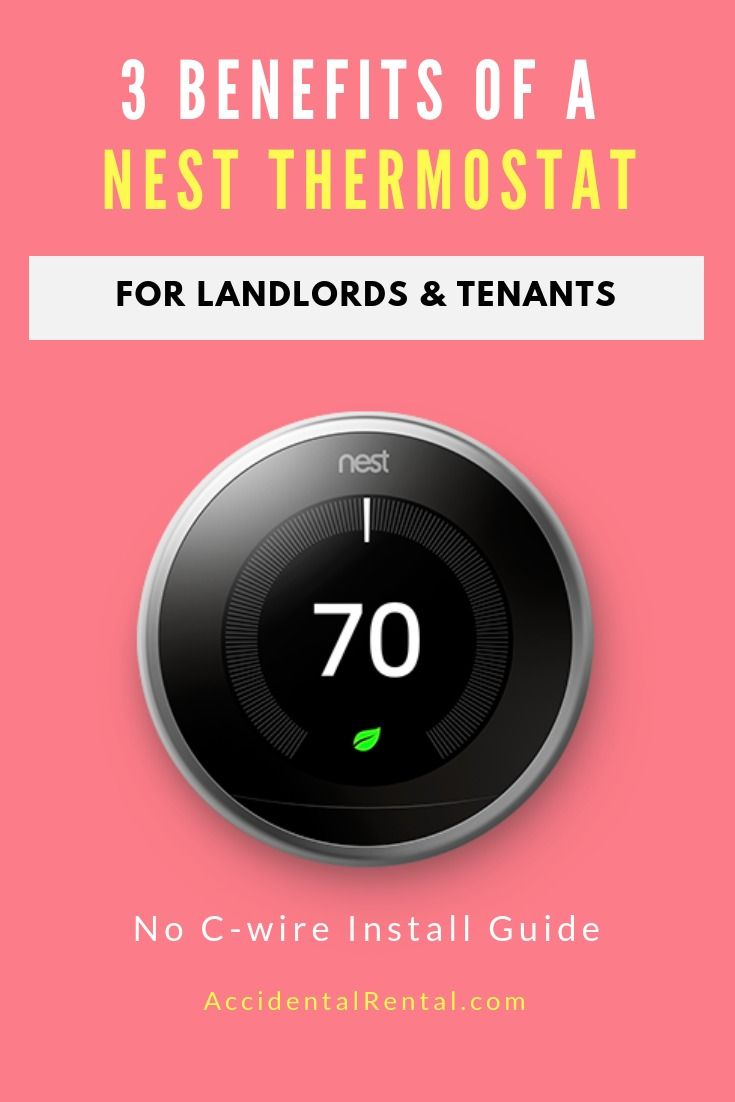 3 Ways A Nest Thermostat Benefits Landlords No Common Manual Guide