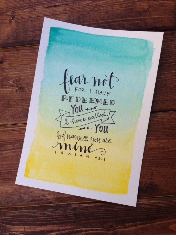 Isaiah by wateroakdesignco on etsy bible verses