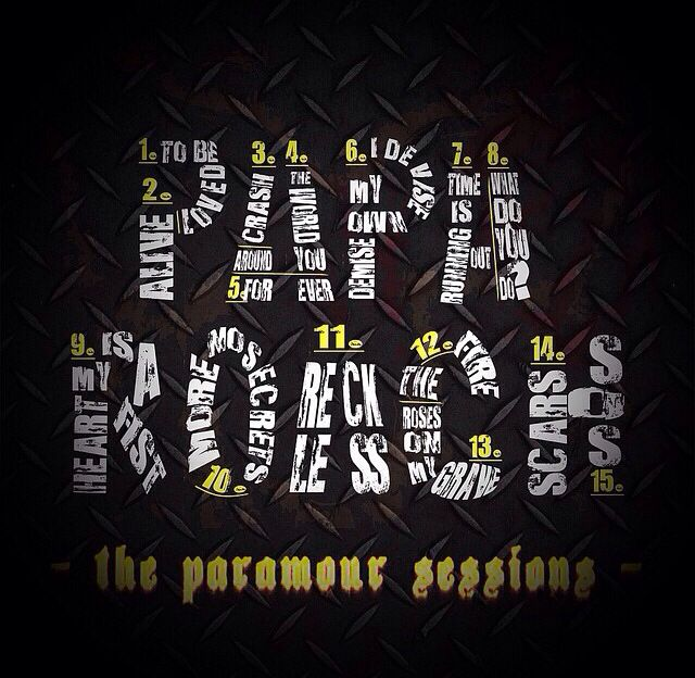Papa Roach - The Paramour Sessions track list