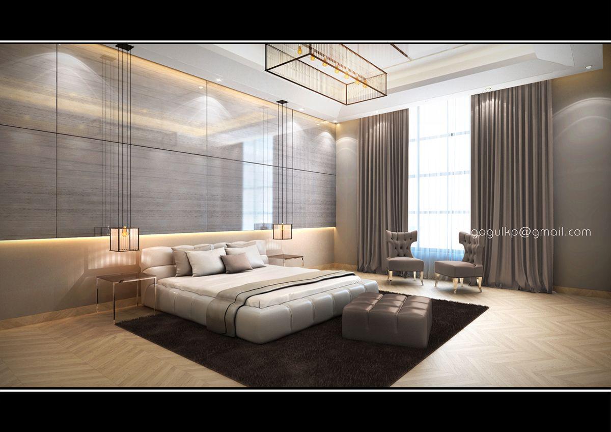 Modern Villa Interior Design On Behance Interior Design Design