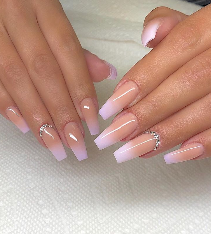 78 Hottest Classy Acrylic Coffin Nails Long Designs For Summer Nail Color Coffin Nails Long Ombre Nails Coffin Nails Designs