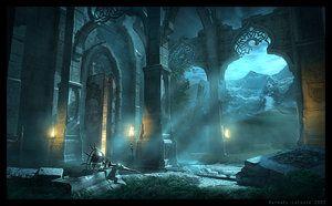 Malik Shah's Sanctuary by Raphael-Lacoste