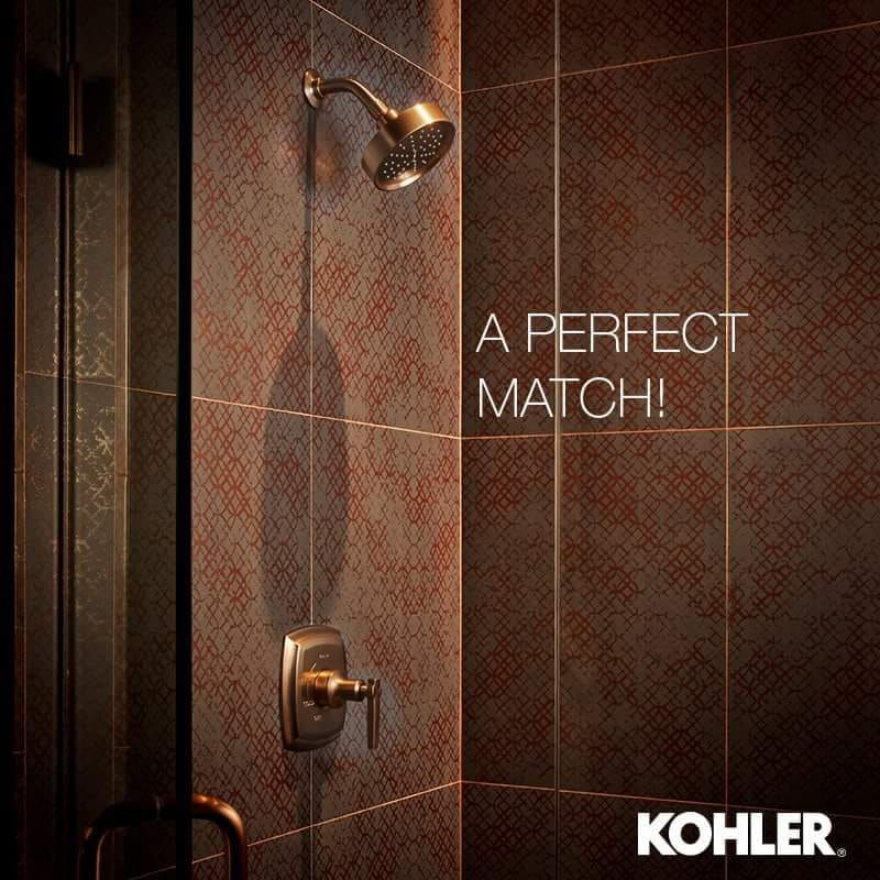 A perfect match of shower for your bathroom, Kohler brings ...