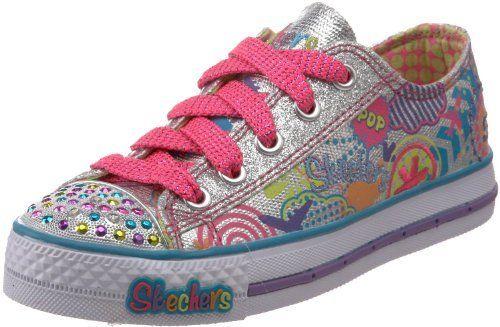 43de50ec3954 Skechers Twinkle Toes S Lights Sugarlicious Lighted Sneaker (Little Kid Big  Kid) Skechers.  44.99