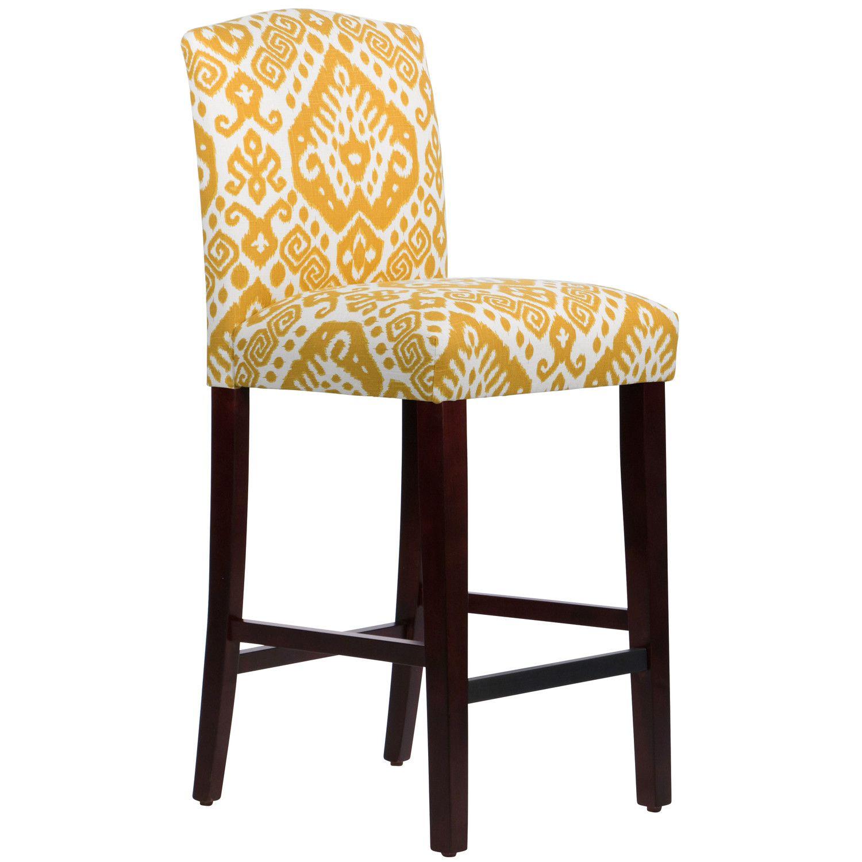 "Brayden Studio Arched 31"" Bar Stool Furniture, Skyline"