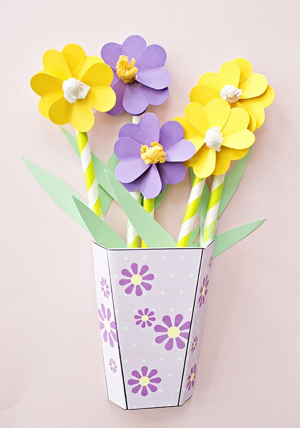 Hello wonderful how to make 3d paper flower bouquets with video 35 creative mothers day gift ideas mightylinksfo