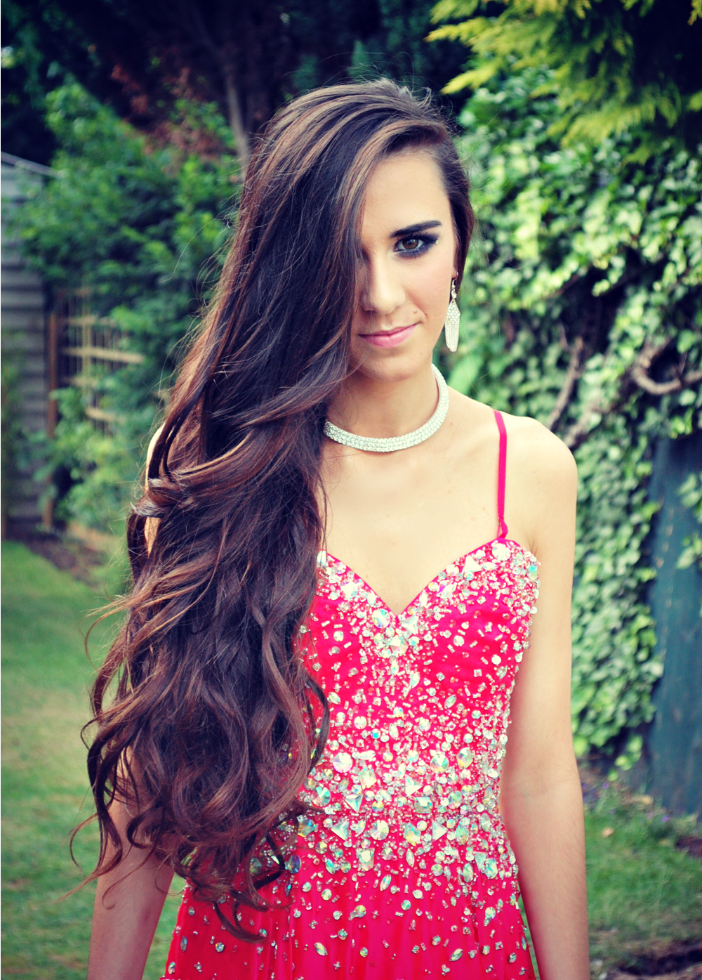 Long curly hair prom phieus salon hair pinterest long curly