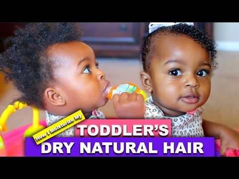 How I Moisturize My Toddler 39 S Dry Natural Hair Youtube Dry Natural Hair Baby Hair Moisturizer Baby Hairstyles
