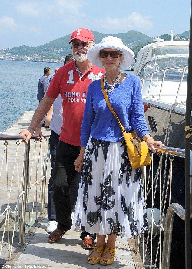 Helen Mirren nails off-duty style at Italy's Ischi